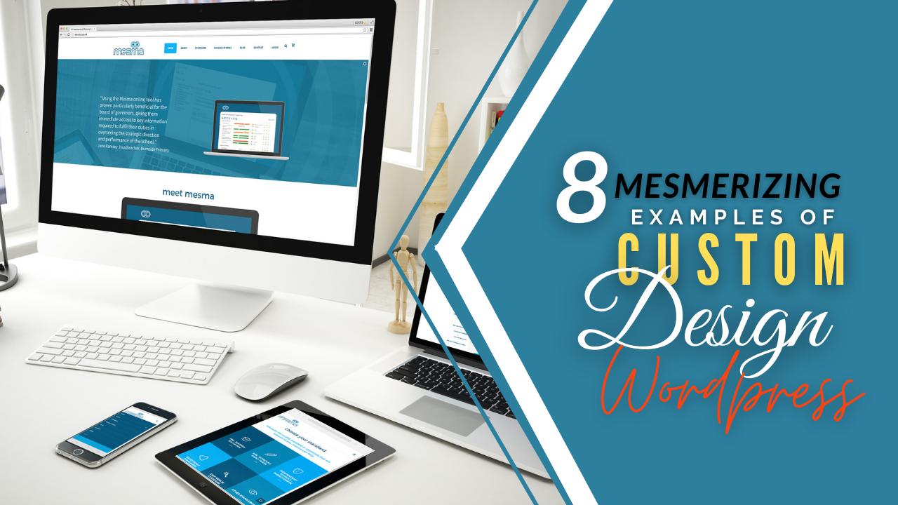 custom design wordpress